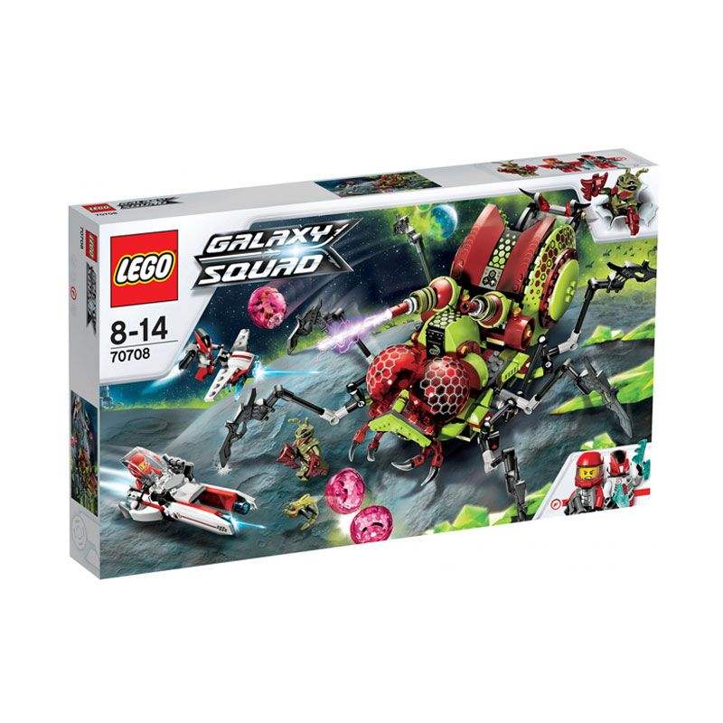 Lego Hive Crawler L70708 Mainan Anak