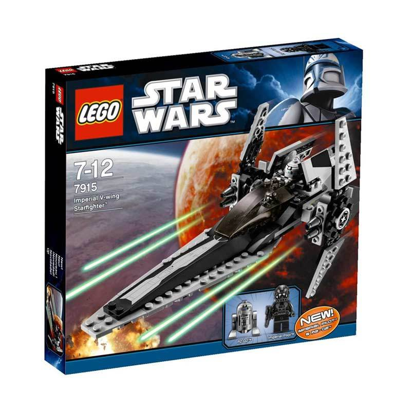 Lego Imperial Vwing Starfighter 7915 Mainan Anak