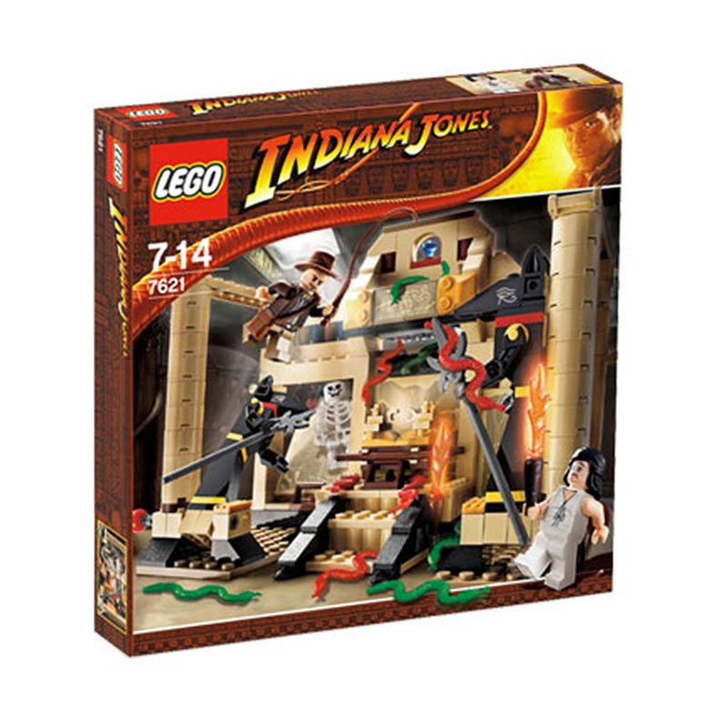 Lego Indiana Jones and the Lost Tomb 7621 Mainan Anak