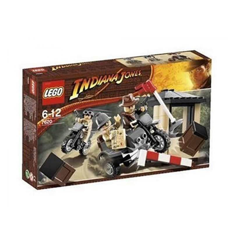 Lego Indiana Jones Motorcycle Chase 7620 Mainan Anak