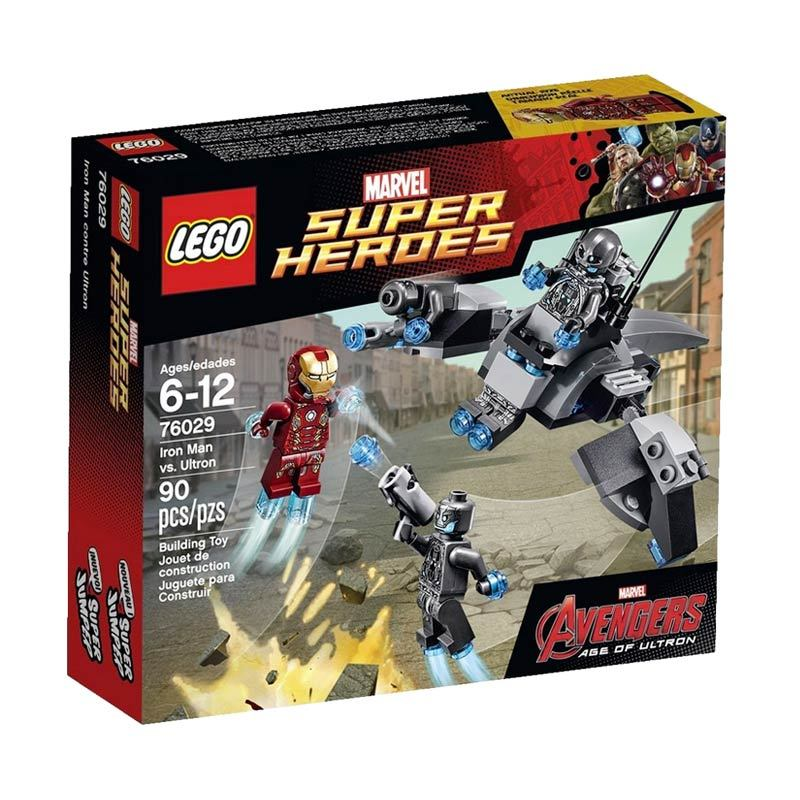 LEGO Iron Man vs. Ultron 76029 Mainan Anak