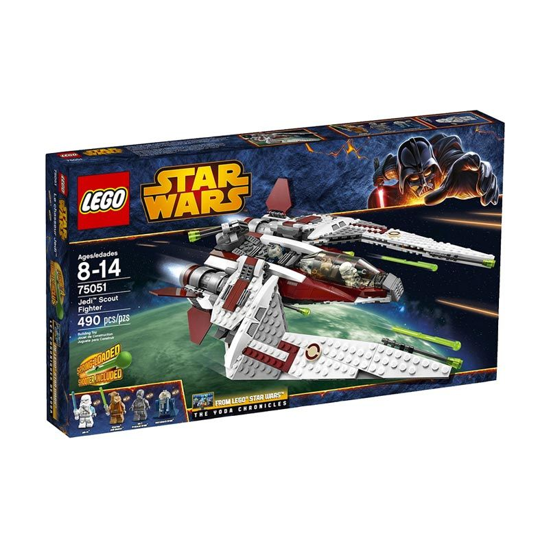 LEGO Jedi Scout Fighter 75051 Mainan Anak
