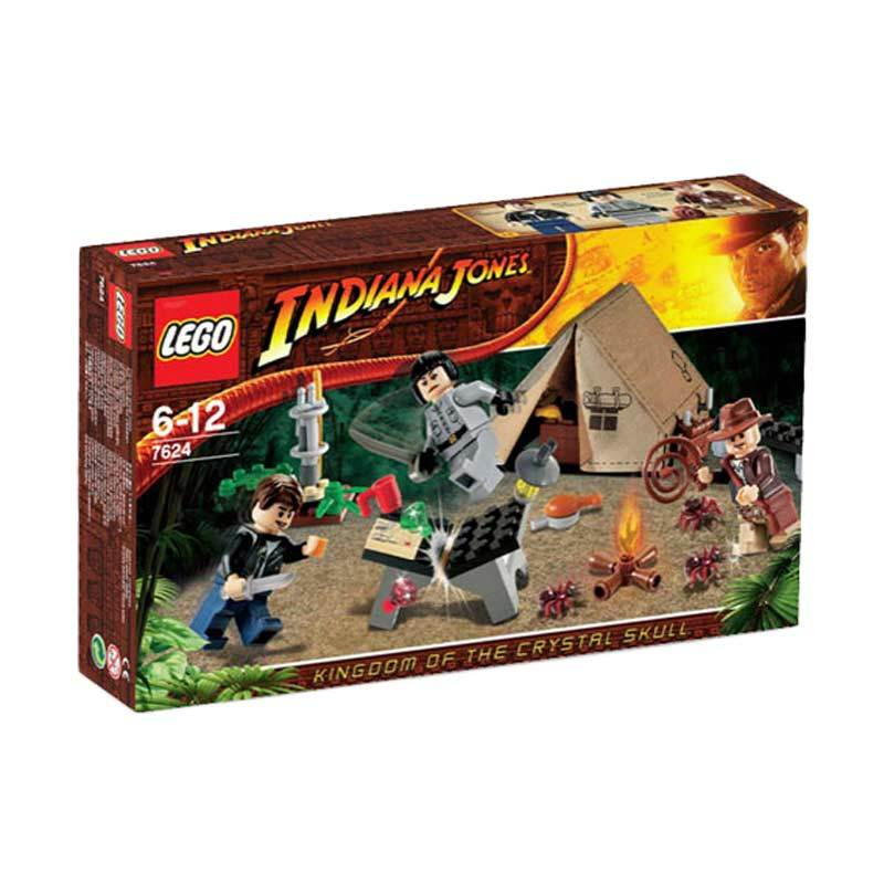 Lego Jungle Duel 7624 Mainan Anak