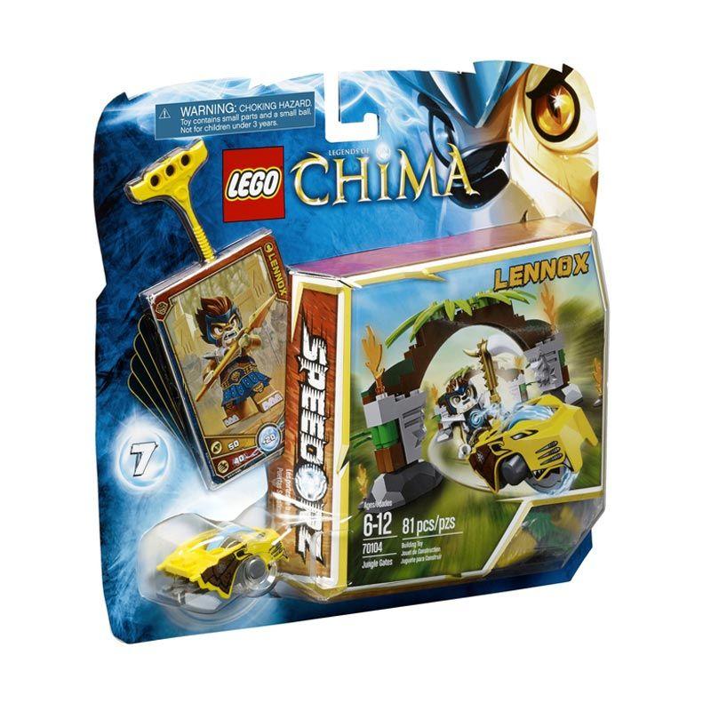 LEGO Jungle Gates L70104 Mainan Anak