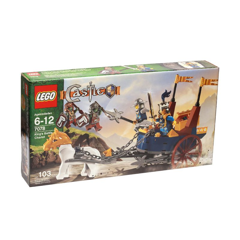 LEGO King's Battle Chariot 7078 Mainan Anak