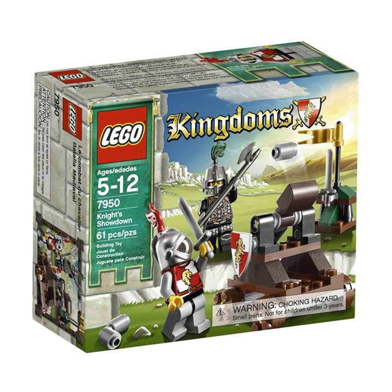 Lego Knight's Showdown 7950 Mainan Anak