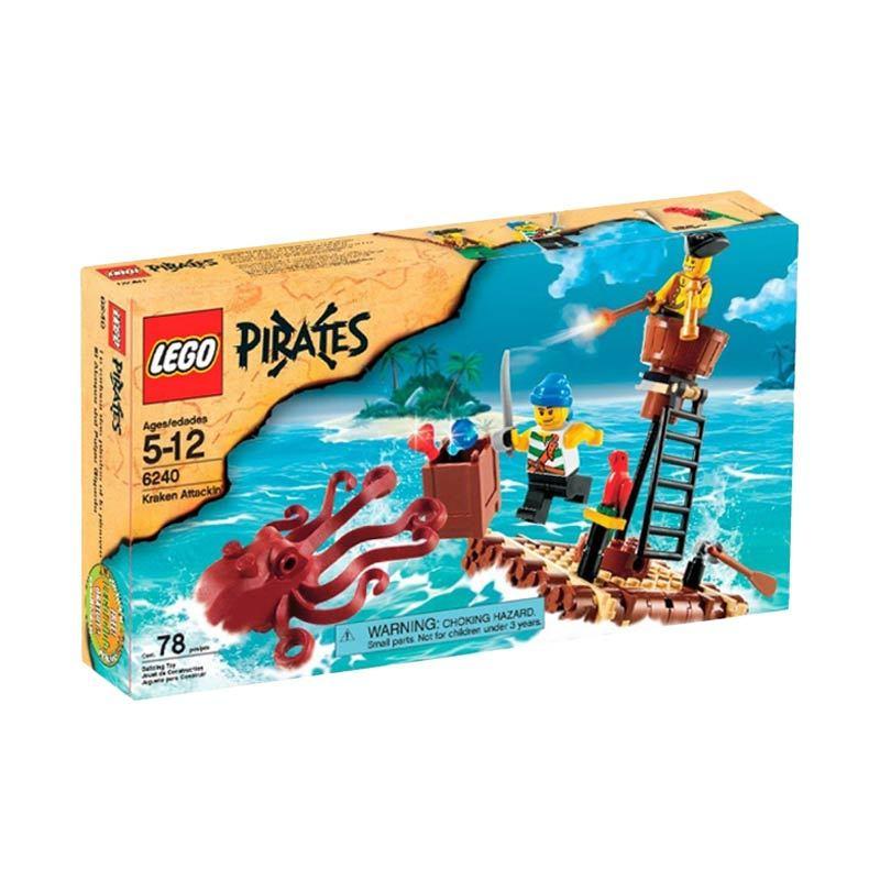 LEGO Kraken Attackin 6240 Mainan Anak