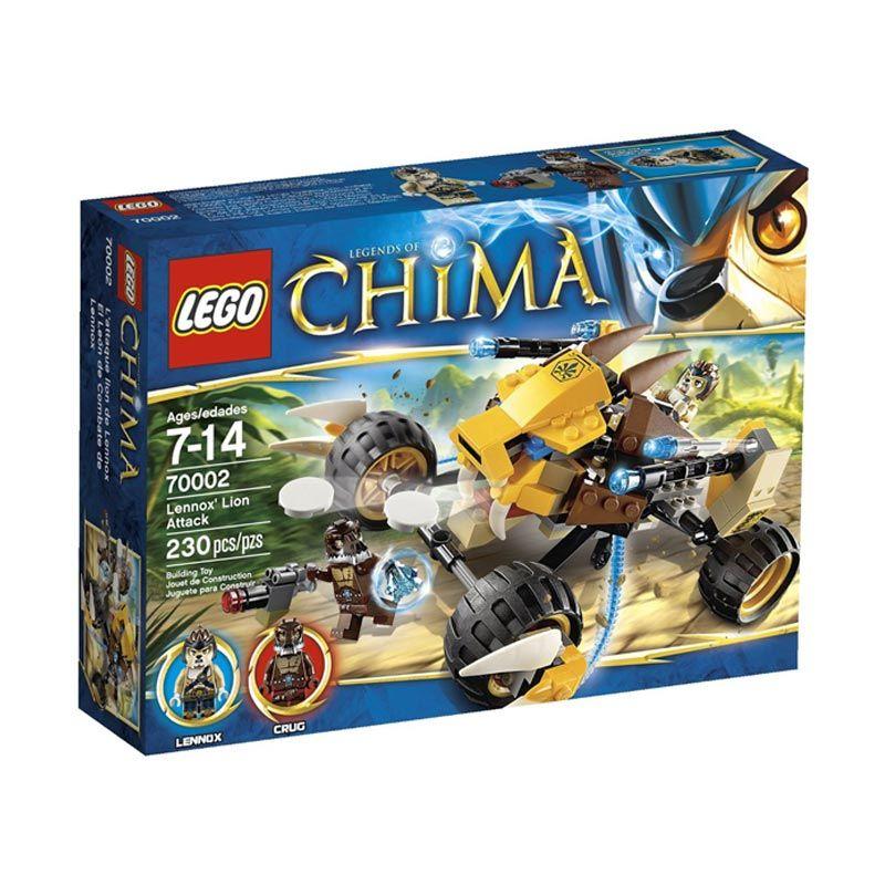 LEGO Lennox Lion Attack L70002 Mainan Anak