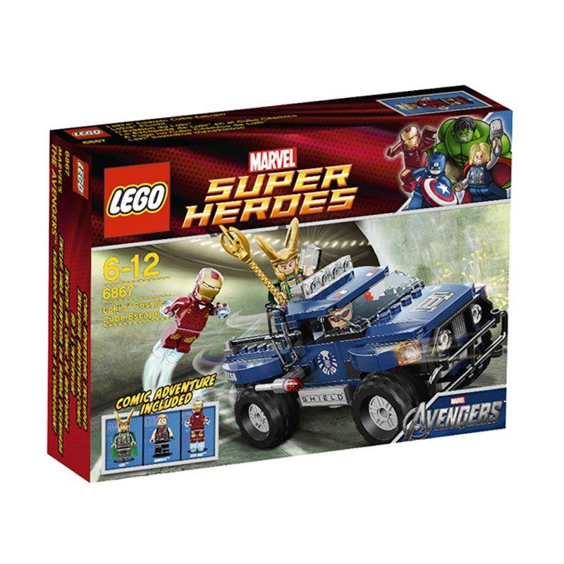 LEGO Loki's Cosmic Cube Escape 6867 Mainan Anak