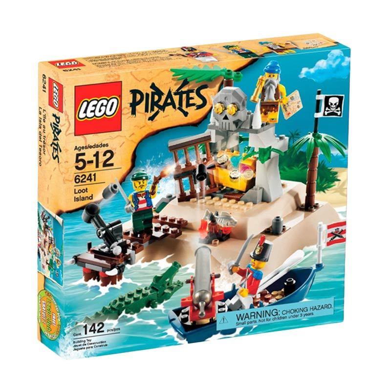 LEGO Loot Island 6241 Mainan Anak