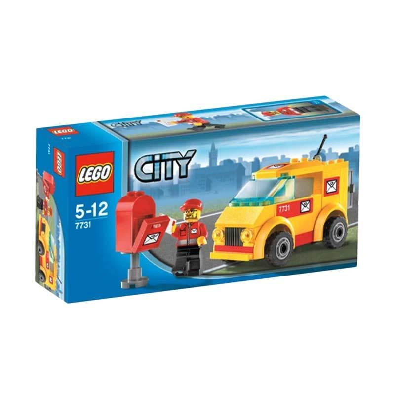 Lego Mail Van 7731 Mainan Anak