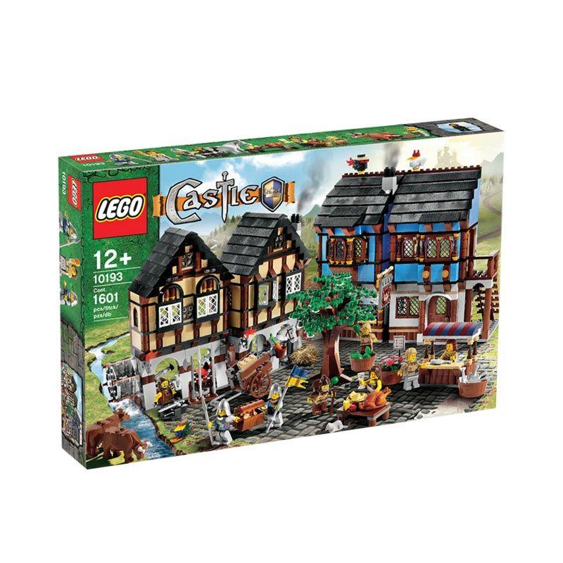 Lego Medieval Market Village 10193 Mainan Anak