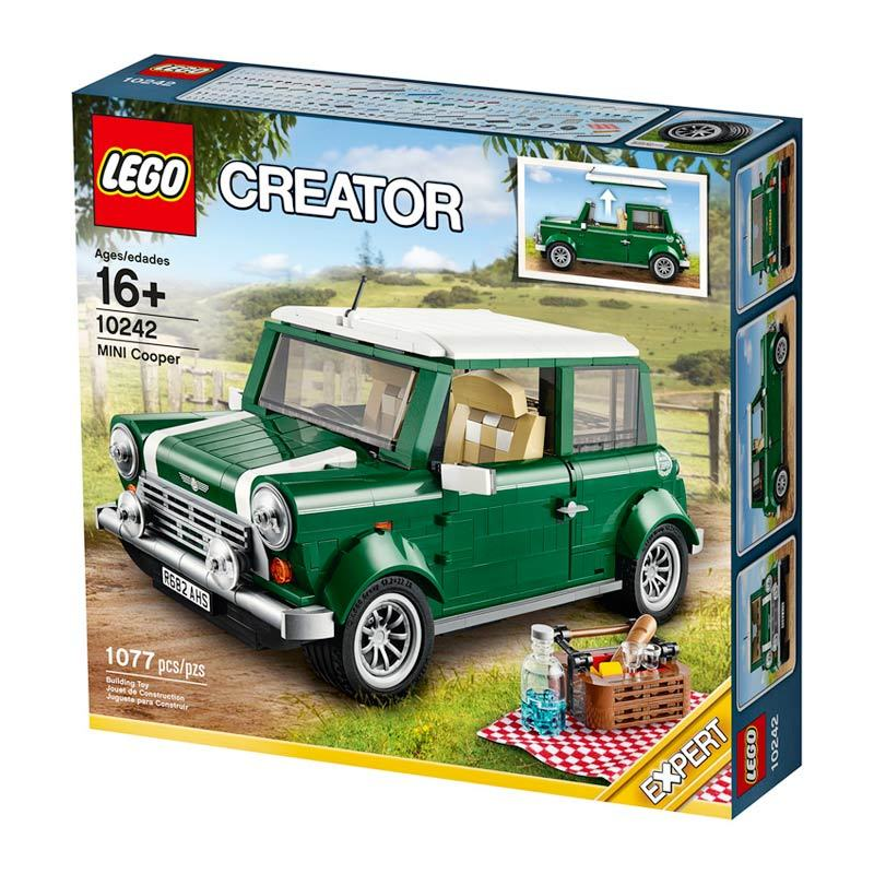 Lego Mini Cooper Mk Vii 10242 Mainan Anak