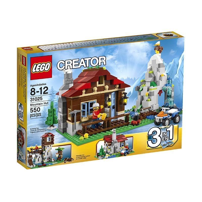 Lego Mountain Hut 31025 Mainan Anak