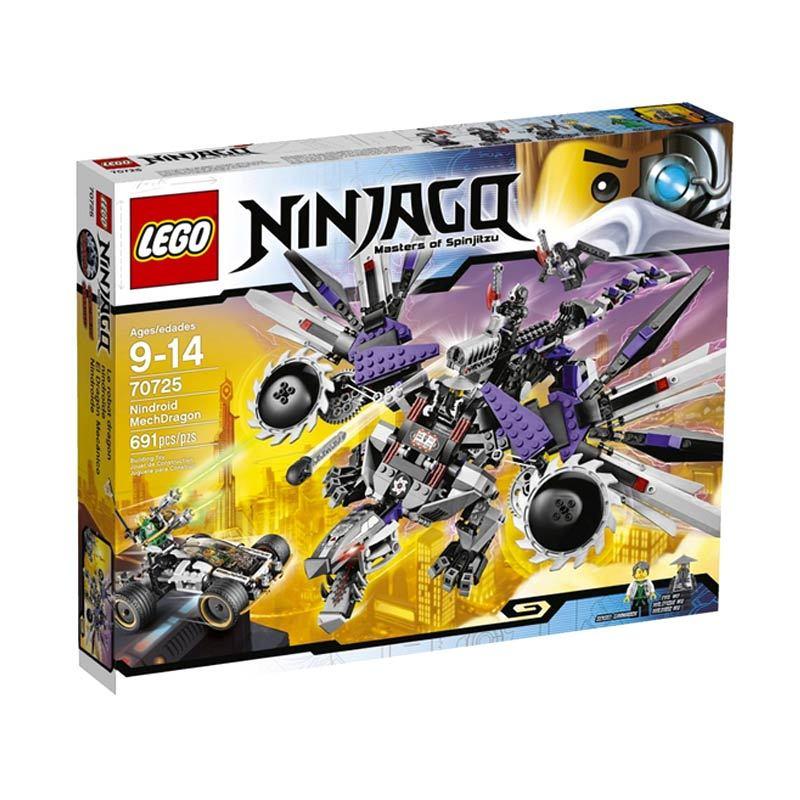 LEGO Nindroid MechDragon 70725 Mainan Anak