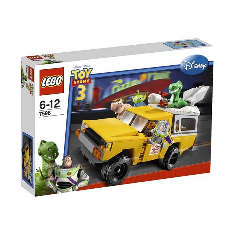 Lego Pizza Planet Truck Rescue 7598 Mainan Blok dan Puzzle