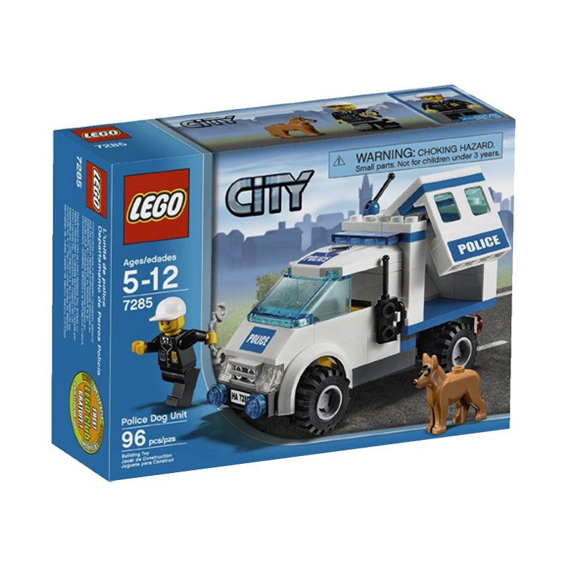 LEGO Police Dog Unit 7285 Mainan Anak