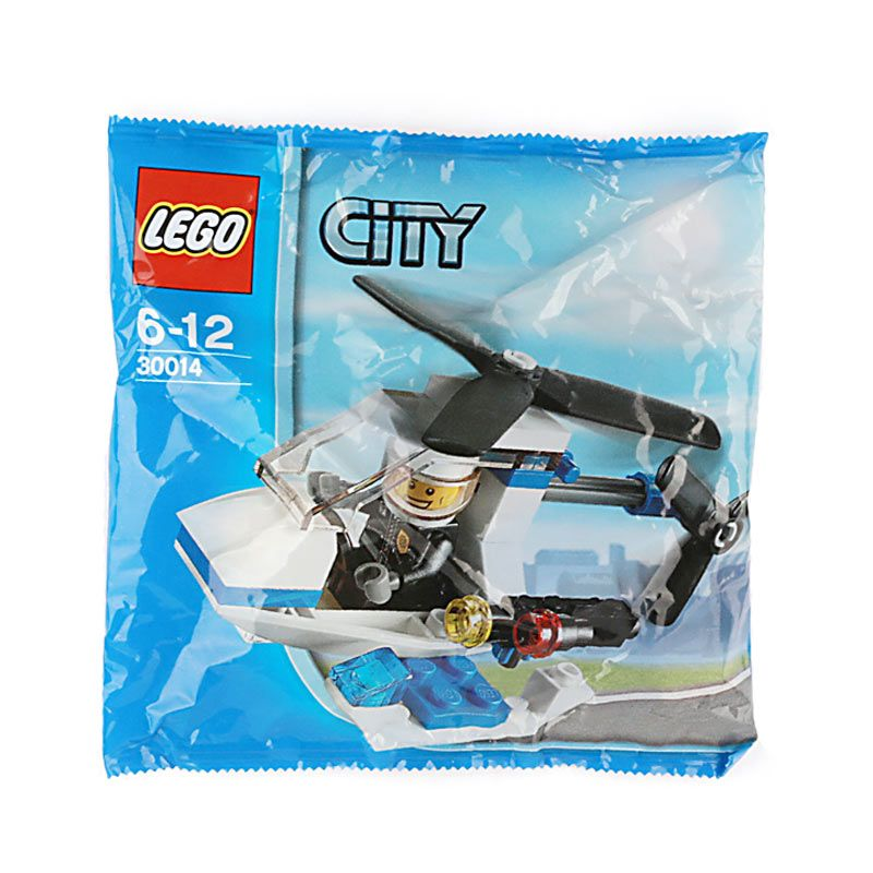 Lego Police Helicopter 30014 Mainan Anak
