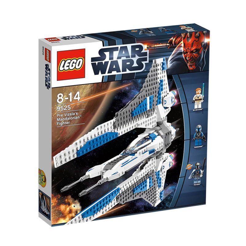 Lego Pre Vizsla'S Mandalorian Fighter 9525 Mainan Blok dan Puzzle