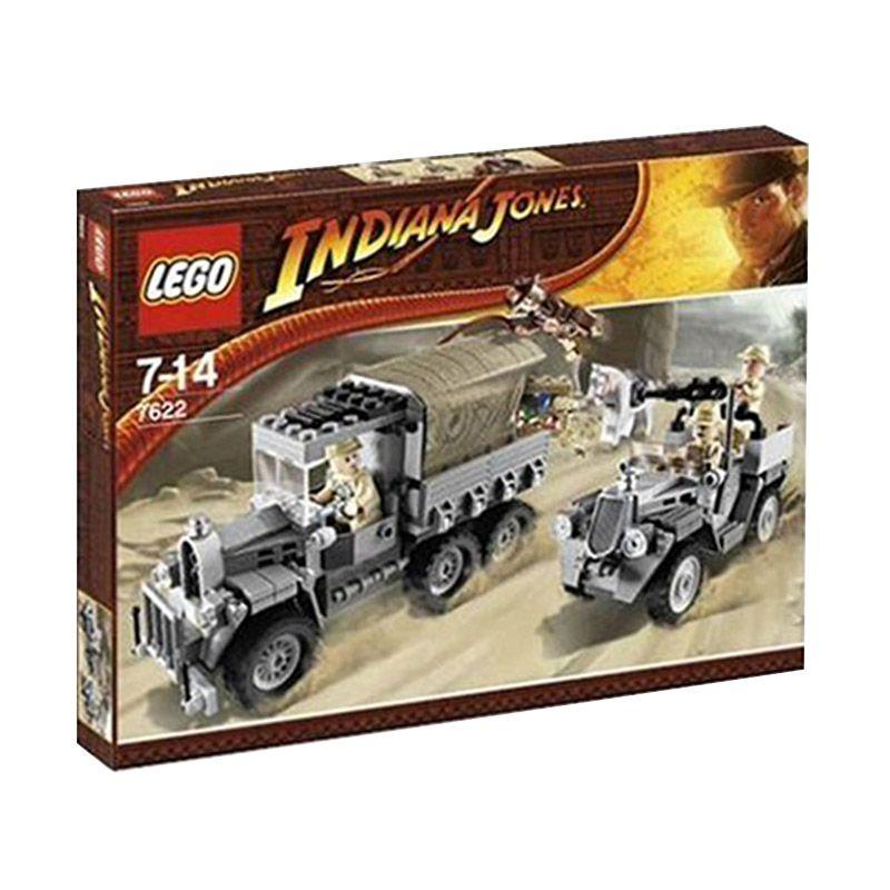 Lego Race for the Stolen Treasure 7622 Mainan Blok dan Puzzle