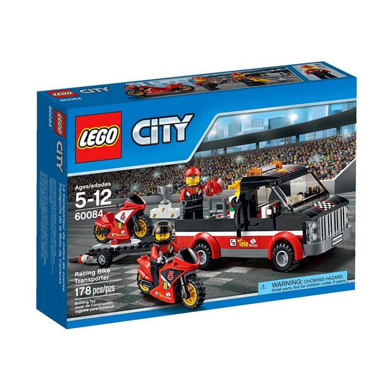 Lego Racing Bike Transporter 60084 Mainan Anak