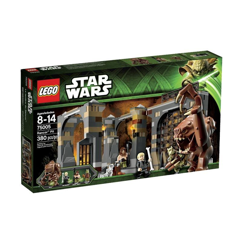 LEGO Rancor Pit 75005 Mainan Anak