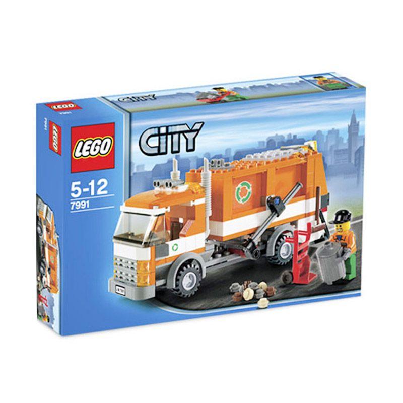 Lego Recycle Truck 7991 Mainan Blok dan Puzzle
