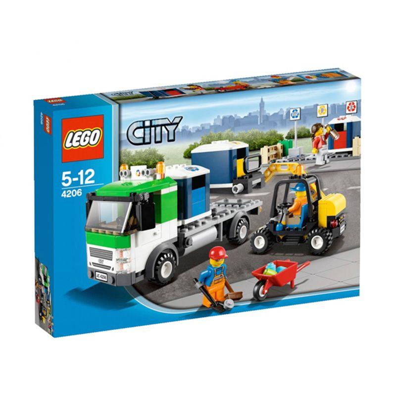 LEGO Recycling Truck 4206 Mainan Anak