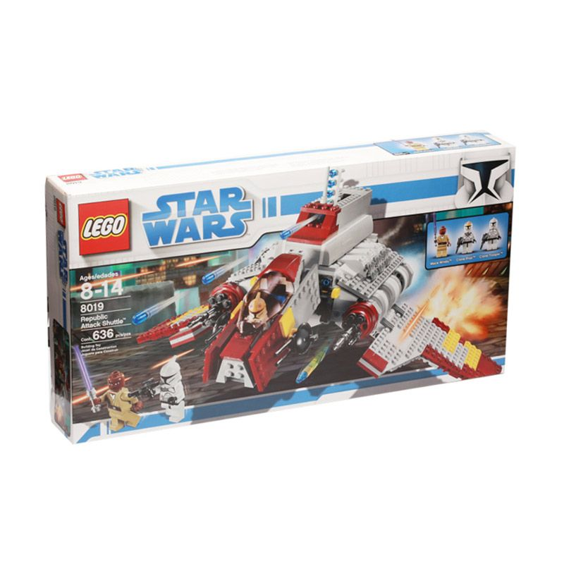 Lego Republic Ataack Shuttle 8019 Mainan Blok dan Puzzle