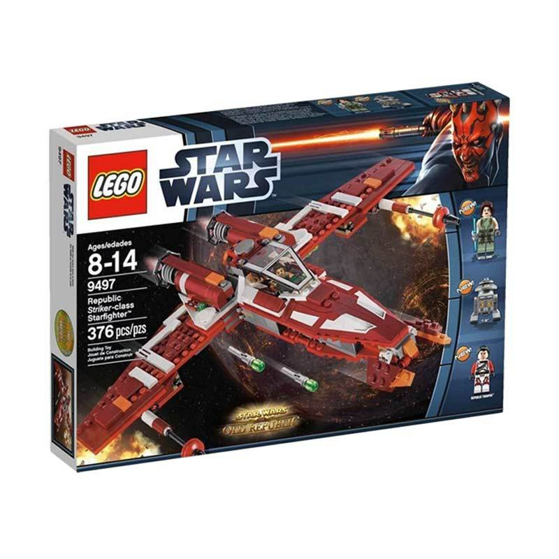 Lego Republic Strikerclass Starfighter 9497 Mainan Blok dan Puzzle
