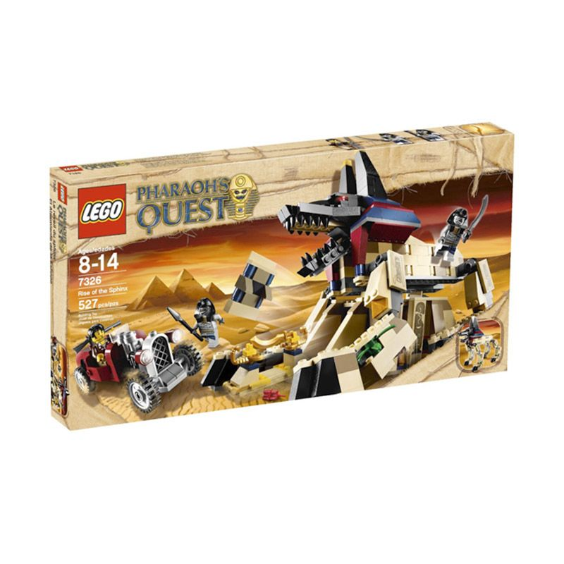 LEGO Rise of The Sphinx 7326 Mainan Anak