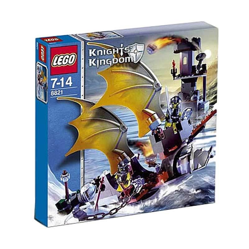 Lego Rogue Knight Battleship 8821 Mainan Blok dan Puzzle