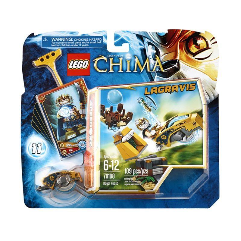 LEGO Royal Roost L70108 Mainan Anak
