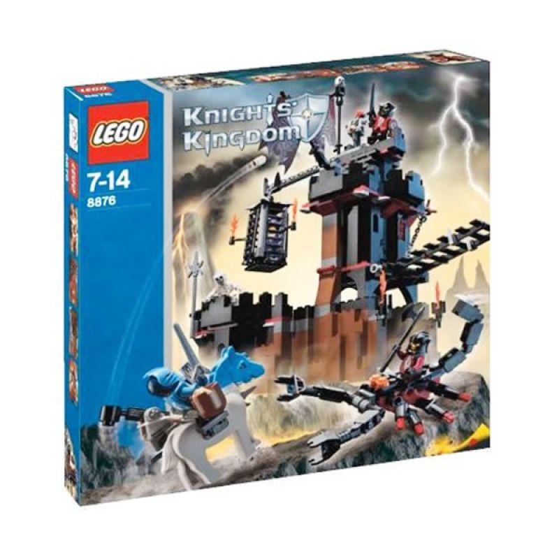 Lego Scorpion Prison Cave 8876 Mainan Blok dan Puzzle