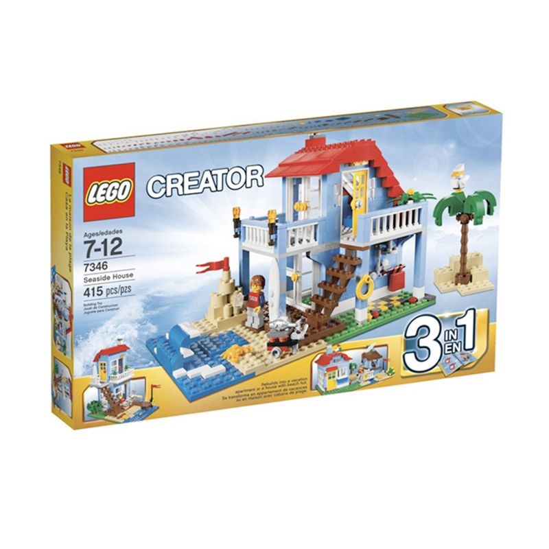 LEGO Seaside House 7346 Mainan Anak