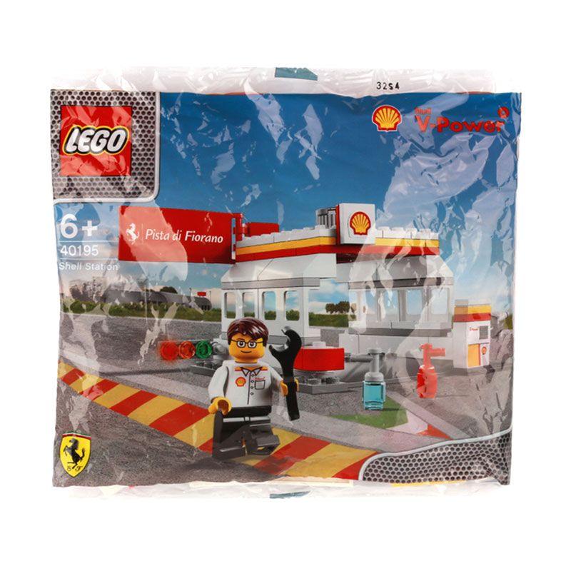 Lego Shell Station 40195 Mainan Anak