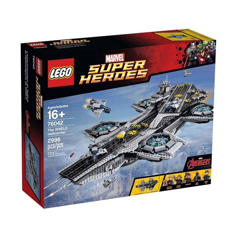 LEGO Shield Helicarrier 76042 Mainan Anak