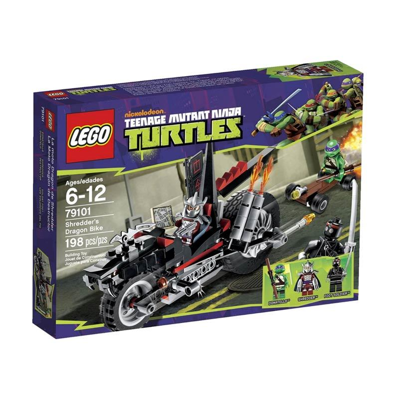 LEGO Shredder's Dragon Bike 79101 Mainan Anak