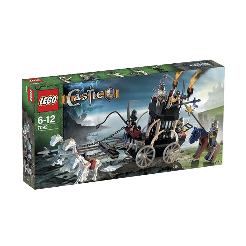 LEGO Skeletons' Prison Carriage 7092 Mainan Anak