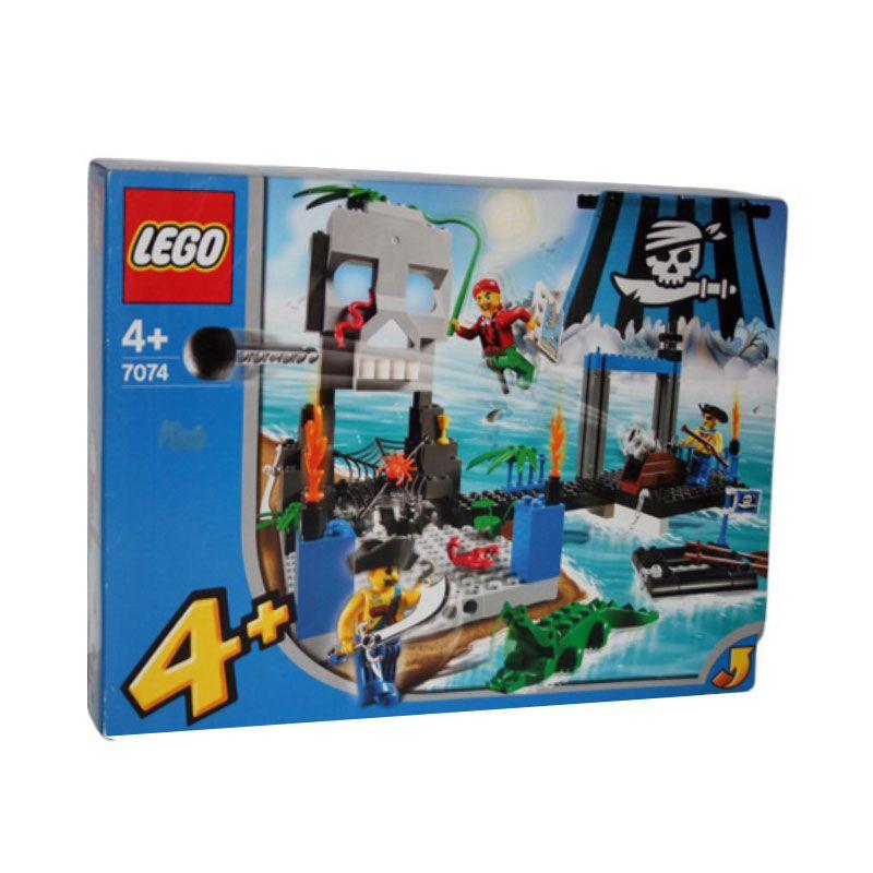 LEGO Skull Island 7074 Mainan Anak