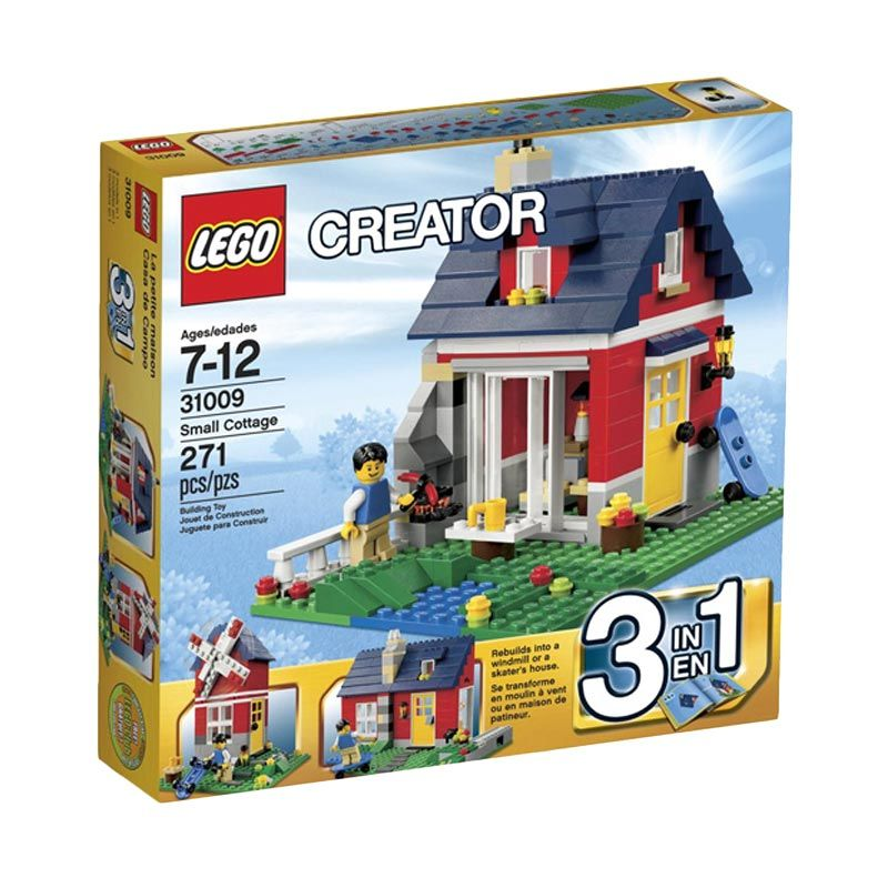 Lego Small Cottage 31009 Mainan Blok dan Puzzle