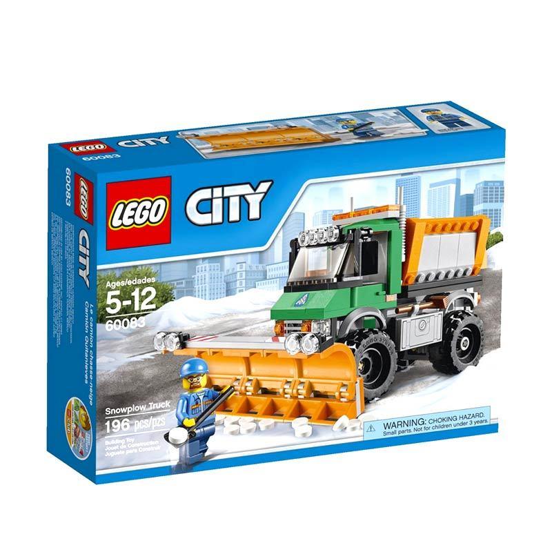 LEGO Snowplough Truck 60083 Mainan Anak