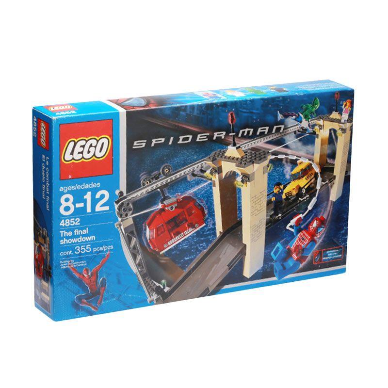 LEGO SpiderMan vs. Green Goblin The Final Showdown 4852 Mainan Anak