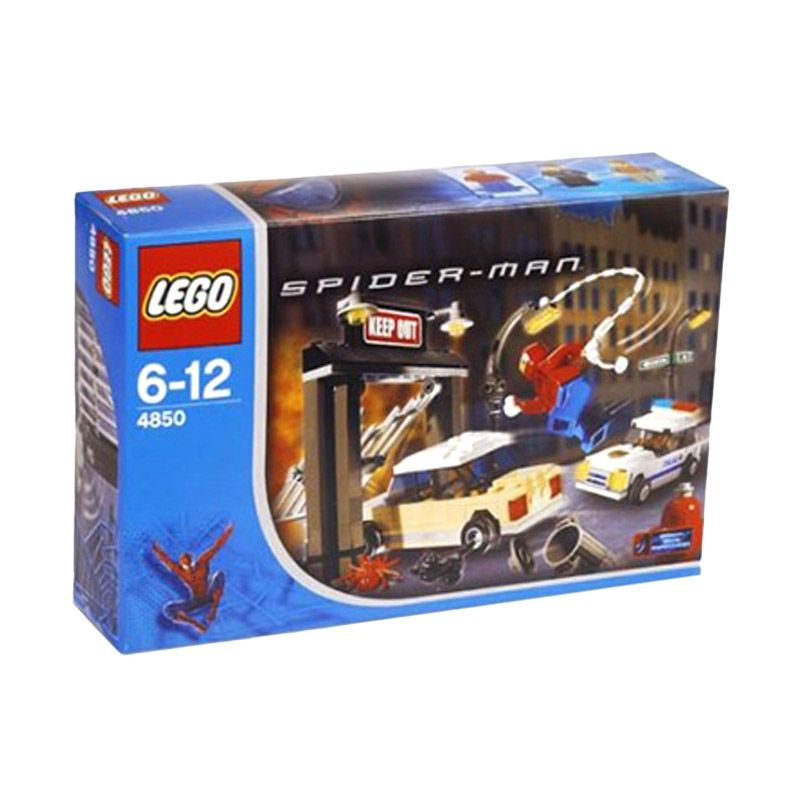 LEGO SpiderMan's First Chase 4850 Mainan Anak