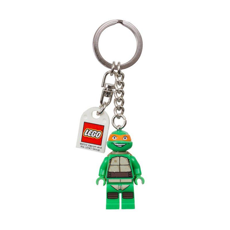 Lego Teenage Mutant Ninja Turtles Michaelangelo 850653 Gantungan Kunci