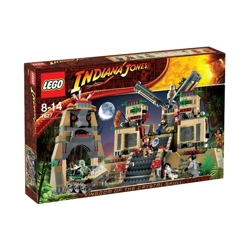 Lego Temple of the Crystal Skull 7627 Mainan Blok dan Puzzle