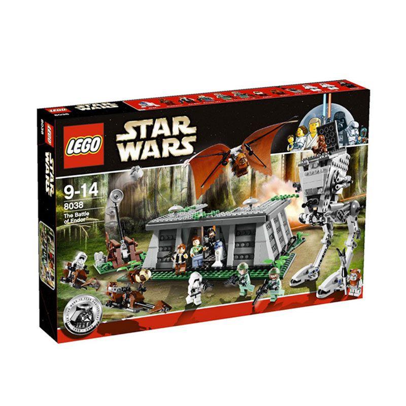 Lego The Battle of Endor 8038 Mainan Blok dan Puzzle