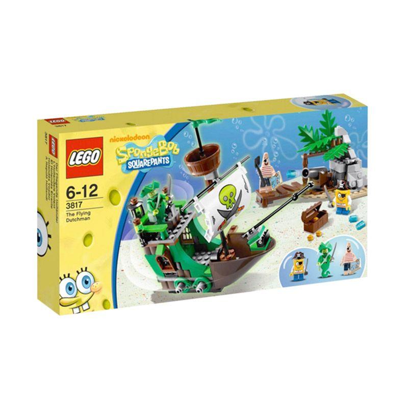 LEGO The Flying Dutchman 3817 Mainan Anak