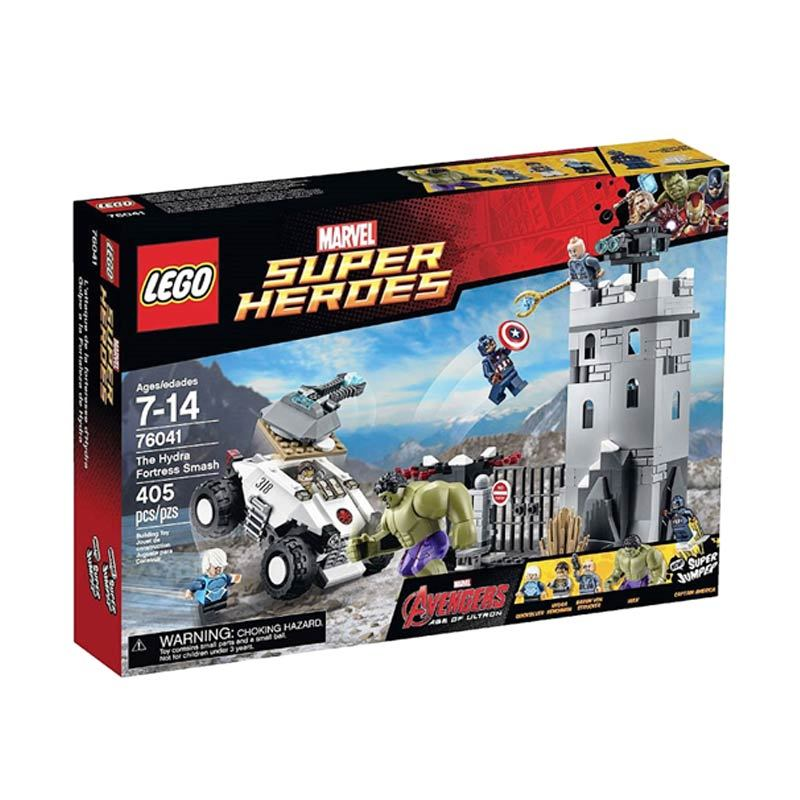 LEGO The Hydra Fortress Smash 76041 Mainan Anak