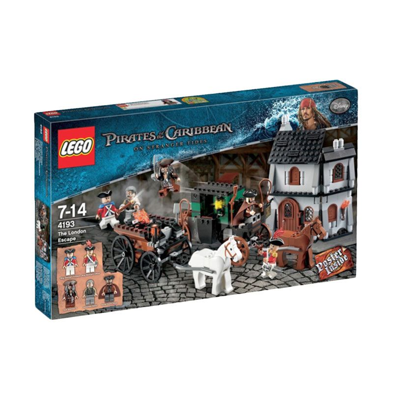 LEGO The London Escape 4193 Mainan Anak